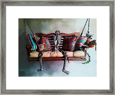 Lazy Goul Framed Print by Susan Vineyard