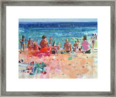 Lazy Sunny Afternoon Framed Print by Peter Graham