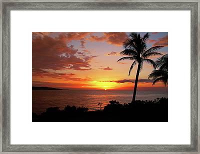 Lazy Sunset Framed Print by Kamil Swiatek
