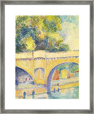 Le Pont Neuf Framed Print by Celestial Images