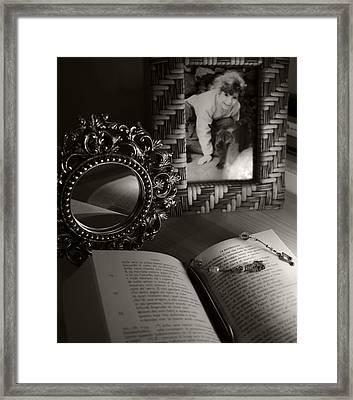 Le Ricordanze - G. Leopardi Framed Print by Piera Polo
