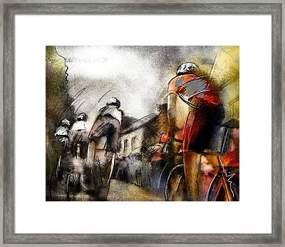 Le Tour De France 06 Framed Print by Miki De Goodaboom