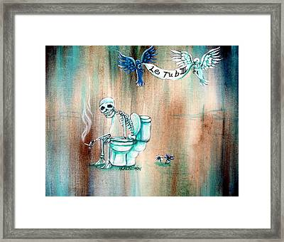 Le Tub IIi Framed Print by Heather Calderon