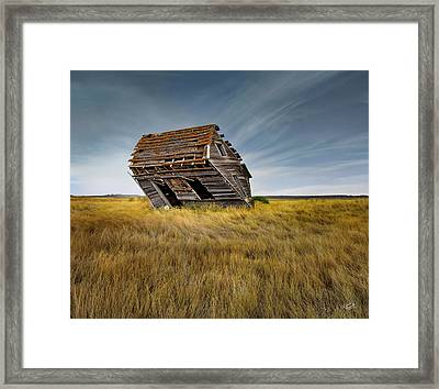 Passing Framed Print by Leland D Howard