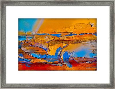 Leap Into The Sky Framed Print by David Clanton