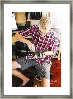 Learning Through Reverse Engineering Framed Print by Jorgo Photography - Wall Art Gallery
