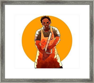 Leatherface Framed Print by Jorgo Photography - Wall Art Gallery