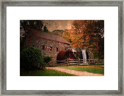 Leave A Light On For Me Framed Print by Renee Hong
