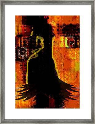 Leave Me In Trance Framed Print by Fania Simon
