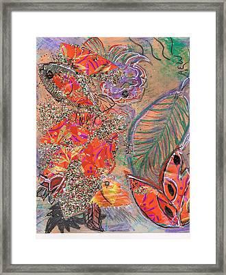 Leaving All Behind Framed Print by Anne-Elizabeth Whiteway