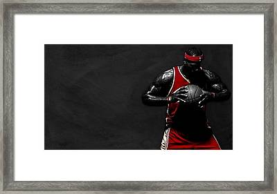 Lebron James Framed Print by Movie Poster Prints