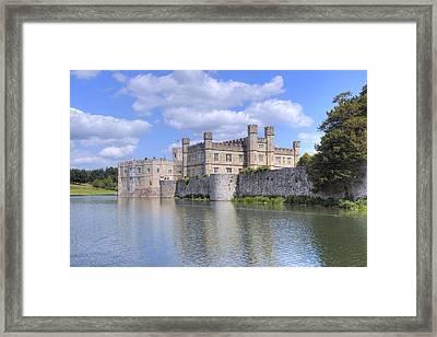 Leeds Castle - England Framed Print by Joana Kruse