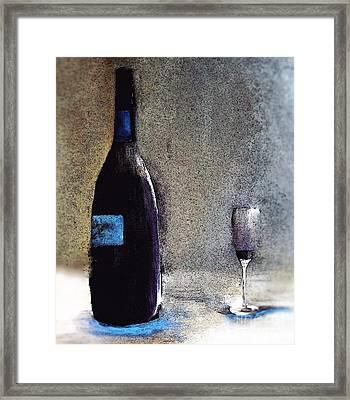 Left Handed Blues Framed Print by Lisa Kaiser