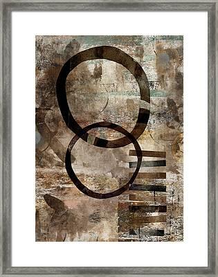 Left Of Eight  Framed Print by Carol Leigh