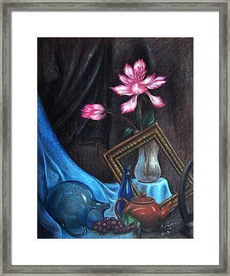 Left Over Framed Print by Anjie Liu