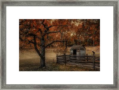 Legend Of The Fall Framed Print by Robin-lee Vieira