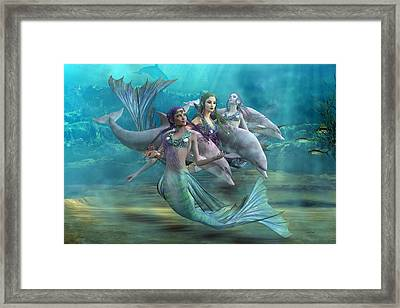 Legends Framed Print by Betsy C Knapp