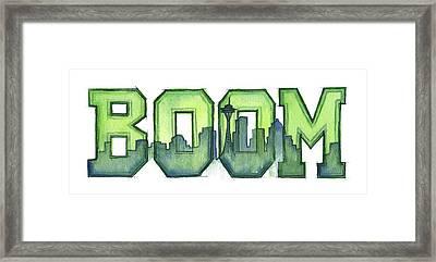 Legion Of Boom Framed Print by Olga Shvartsur