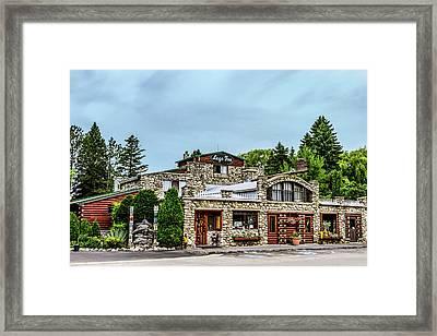 Legs Inn Of Cross Village Framed Print by Bill Gallagher