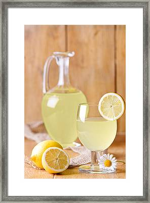 Lemonade Framed Print by Amanda And Christopher Elwell