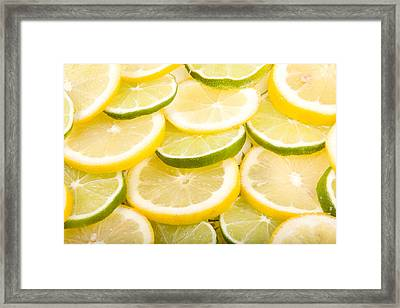 Lemons And Limes Framed Print by James BO  Insogna