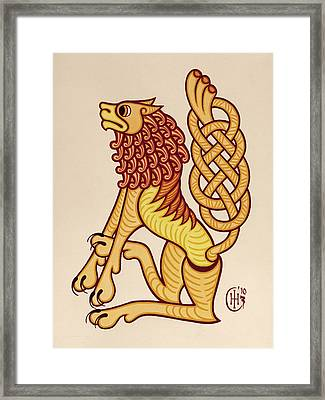 Leo Framed Print by Ian Herriott