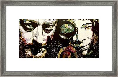 Leon And Mathilda Framed Print by Bobby Zeik