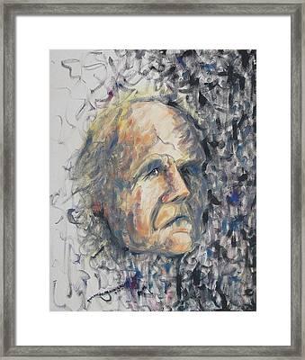 Leon Louis Leclair Jr Framed Print by Suzanne  Marie Leclair