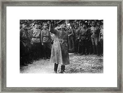 Leon Trotsky (1879-1940) Framed Print by Granger