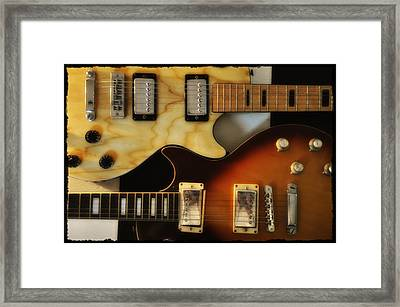 Les Paul - Come Together Framed Print by Bill Cannon