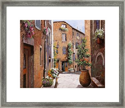 Les Tourrettes Framed Print by Guido Borelli