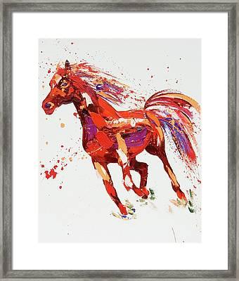 L'espirit Framed Print by Penny Warden