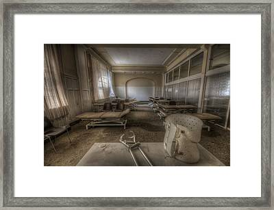 Lesson Time Framed Print by Nathan Wright
