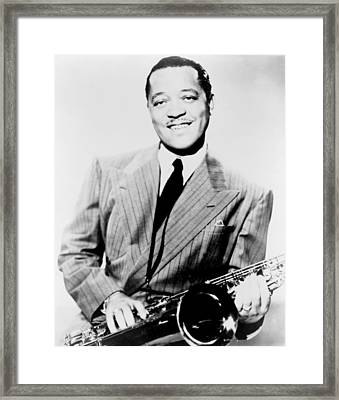 Lester Young 1909-1959, African Framed Print by Everett