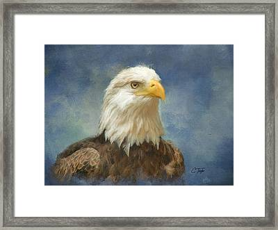 Let Freedom Ring Framed Print by Colleen Taylor