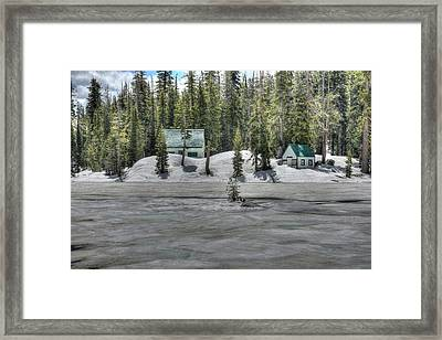 Let It Snow Framed Print by Thomas Todd