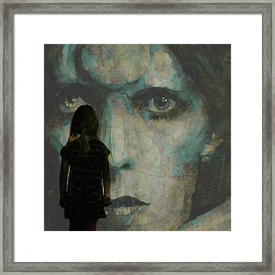 Let The Children Lose It Let The Children Use It Let All The Children Boogie Framed Print by Paul Lovering
