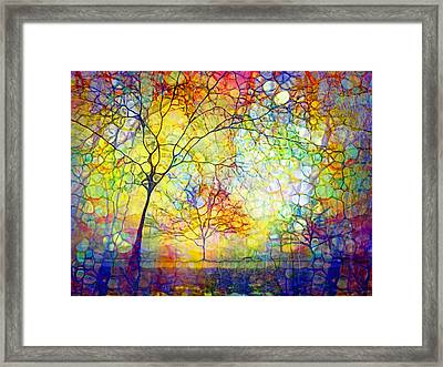 Let There Be Joy Framed Print by Tara Turner