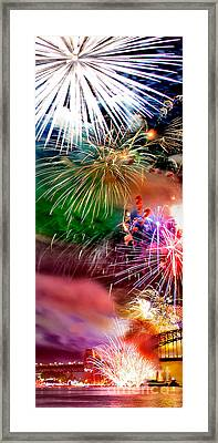 Let's Celebrate Framed Print by Az Jackson