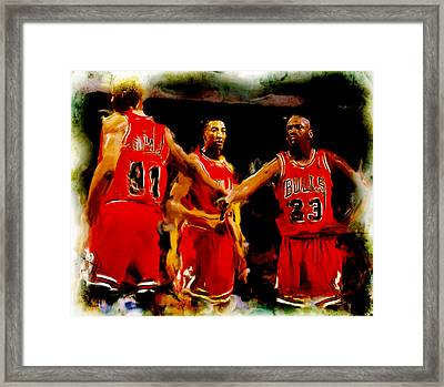 Lets Do This Framed Print by Brian Reaves