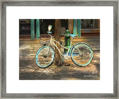 Lets Go For A Ride Framed Print by Arnie Goldstein