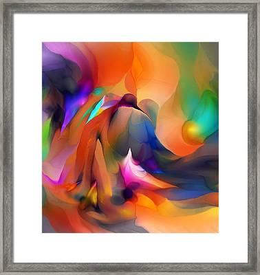 Letting Go Framed Print by David Lane