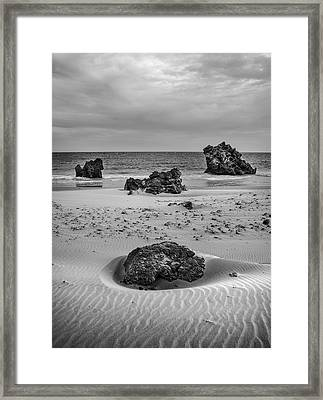 Levante Wind Framed Print by Guido Montanes Castillo