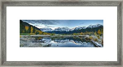 Level Framed Print by Ed Boudreau