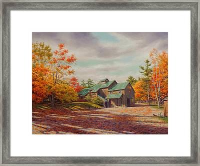 Levon Helm Studios Legendary Ramble Barn Framed Print by Barry DeBaun