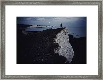 Lewis Carroll Liked To Walk Along These Framed Print by Sam Abell