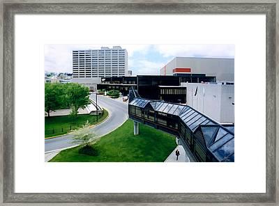 Lexington Kentucky Framed Print by Sam Davis Johnson
