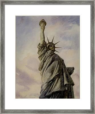 Liberte Framed Print by Vladimir Rumianzev