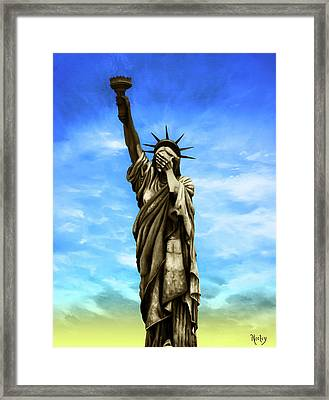 Liberty 2016 Framed Print by Kd Neeley