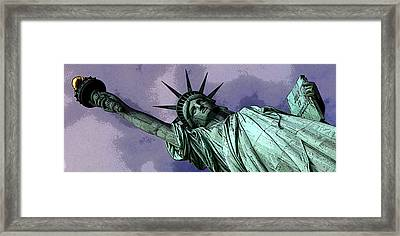 Liberty 3 Framed Print by William  Todd